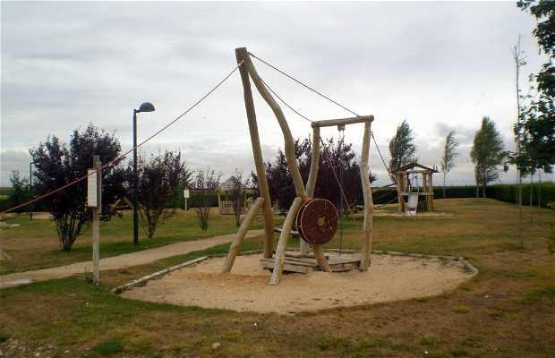 Parque infantil tematizado del Museo de las Villas Romanas