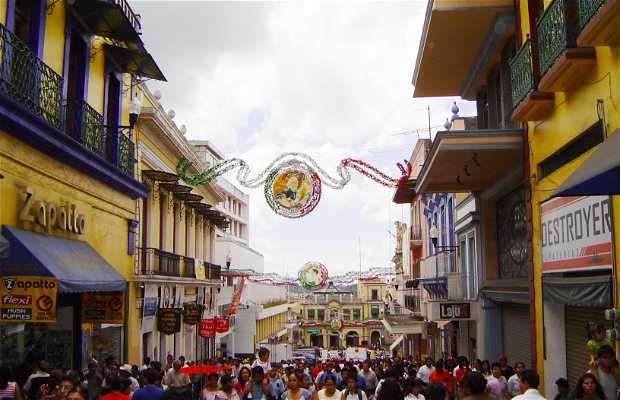 Celebrando el Día de la Revolución en Xalapa