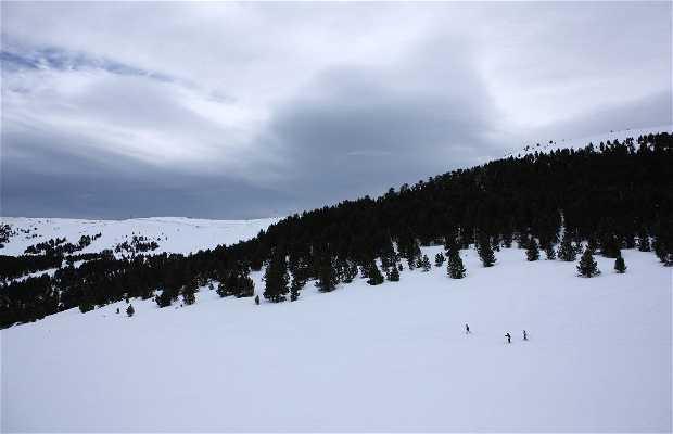 Tuixent - La vansa (estación de sky nórdico)