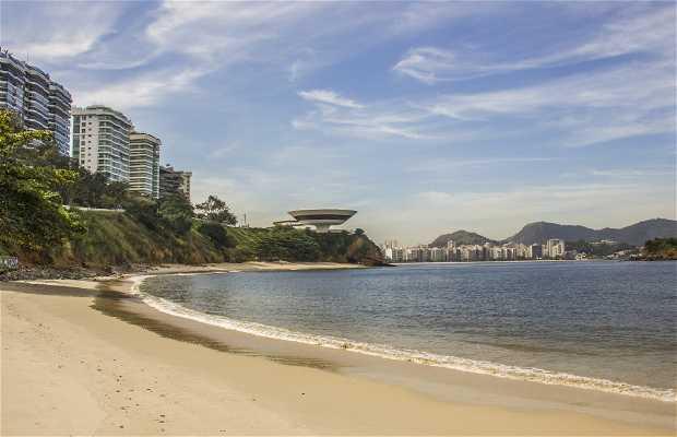 Playa de Boa Viagem en Niterói