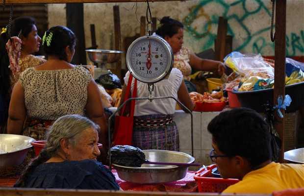 Mercado San Pedro La Laguna