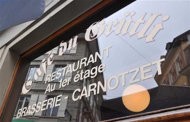 Cafe du Grutli