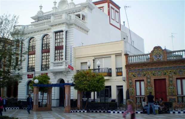 Plaza de las Flores di Isla Cristina