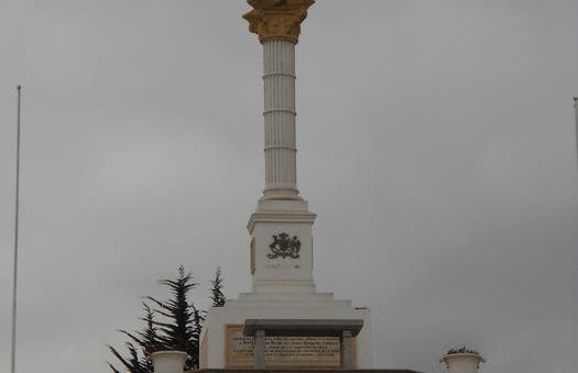 Santa Carme Statue