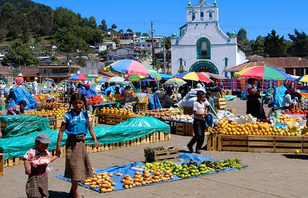 Mercado de San Juan de Chamula