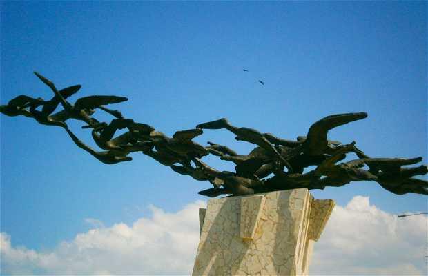 Monumento Los Alcatraces