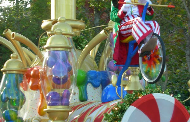 Mickey's Very Merry Christmas Parade (parade of Christmas)