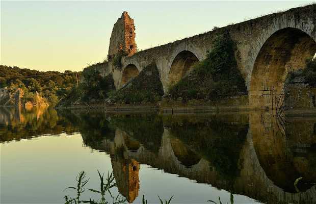 Resultado de imagen de puente Ajuda Olivenza
