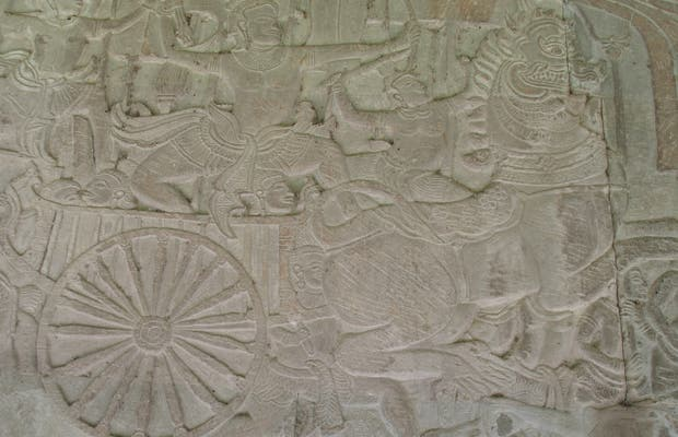 Wall Carvings of Angkor Wat