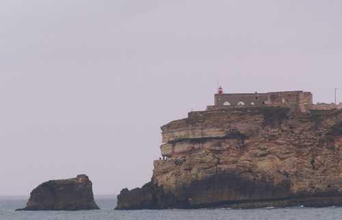 Faro de Nazaré