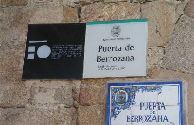 Puerta de la Berrozana