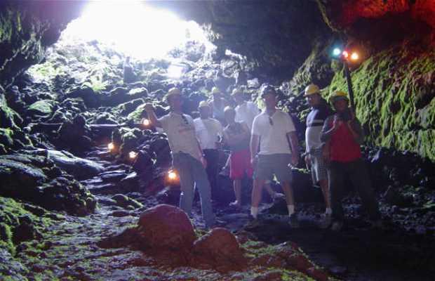 Cuevas volcanicas, villarrica