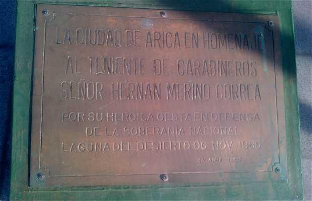 Monumento a Hernan Merino Correa