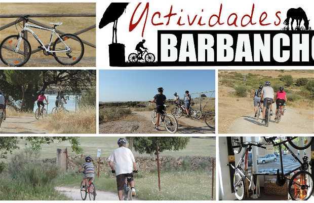 Ruta en bicicleta alrededores Casar de Cáceres