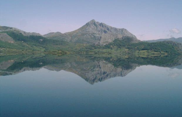 Porma reservoir