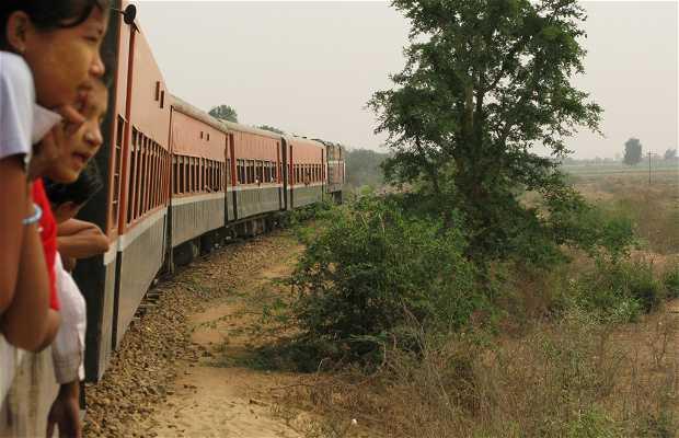 Tren Bagan – Mandalay