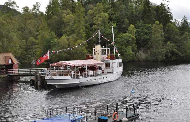 De crucero por Loch Katrine
