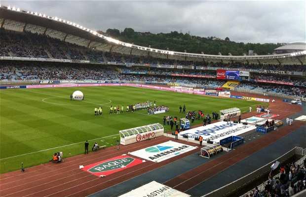 Estadio fútbol Anoeta
