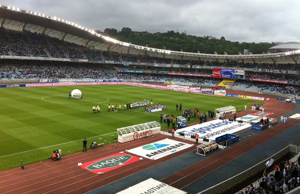 Stadio di Calcio Anoeta a San Sebastian