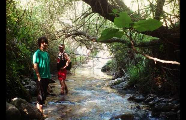 Paseo por el Río Dúrcal y sus`puentes