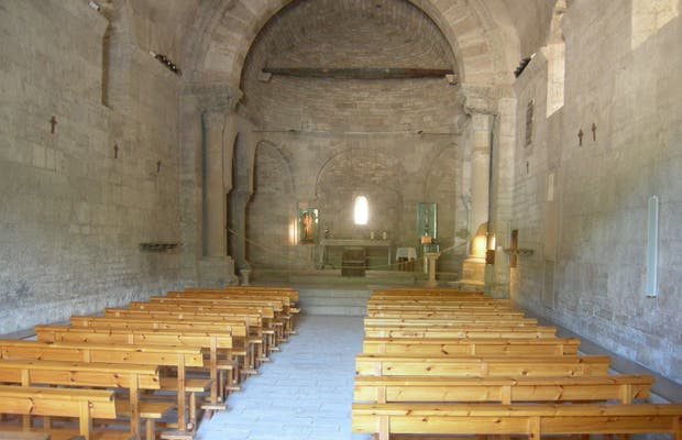 Iglesia de Santa María de Porqueres