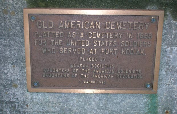 Kodiak Old City Cemetary