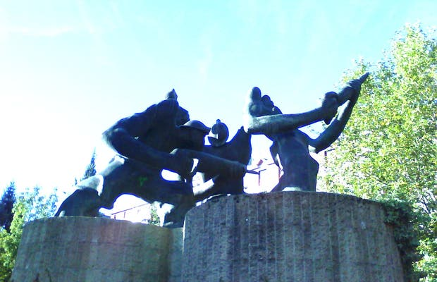 Miners Sculpture