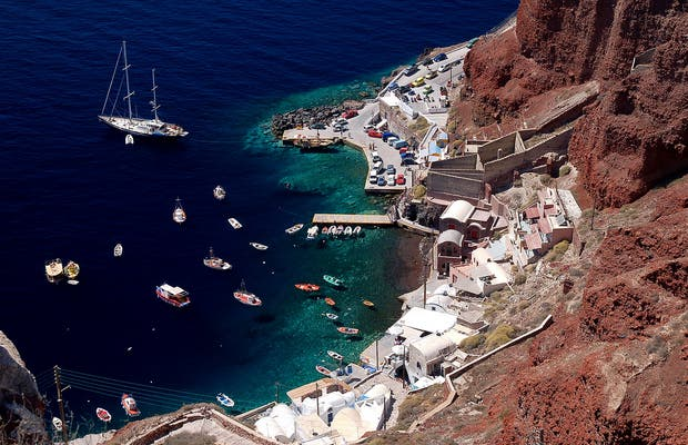 Caldeira Vulcânica de Santorini