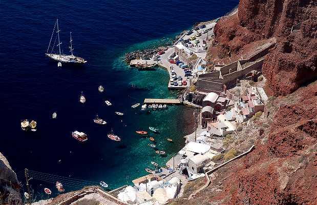 Caldera volcánica de Santorini