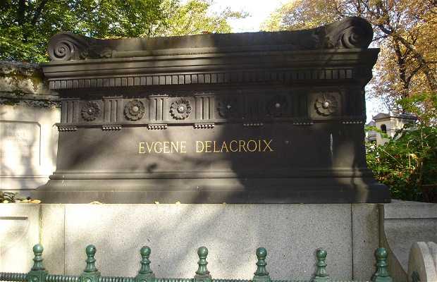 Tumba de Eugène Delacroix