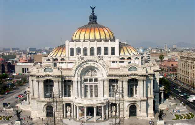 La terrazza del Coffee Factory, Città del Messico