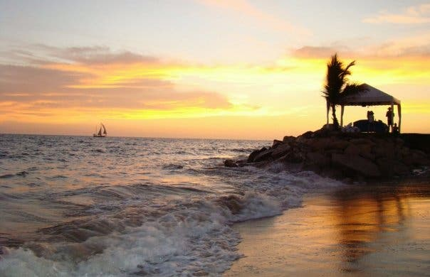 Coucher de soleil à Puerto Vallarta