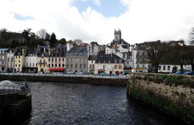 Quartiere di Saint Michel a Quimperlé