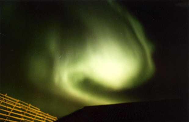 Aurora boreal en Svolvaer