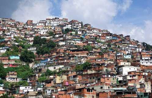 Bolívar Petare Neigbourhood