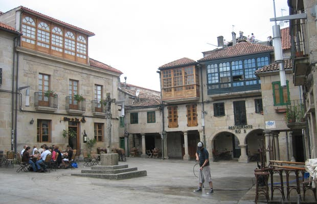 Centro storico di Pontevedra