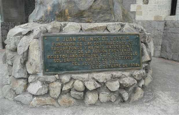 Statue of Juan Salinas de Loyola