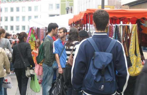 Mercato Flohmarkt a Stoccarda