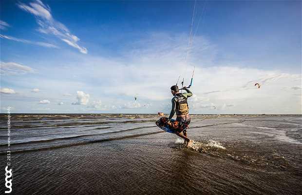 kitesurf em Macapá