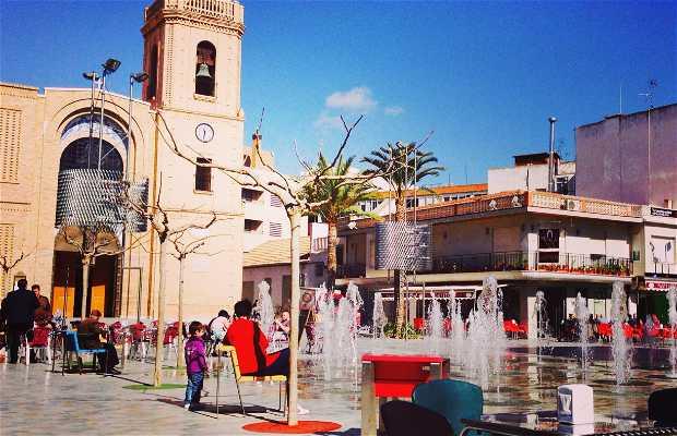Plaza de la Iglesia de Pilar de la Horadada