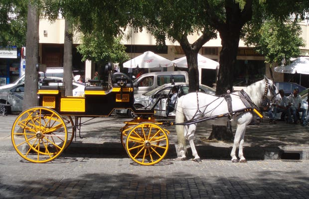 Marcher à Séville