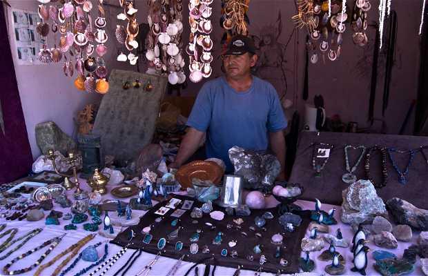 Feria de artesania en Bahia Inglesa