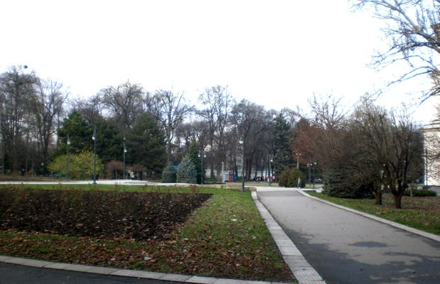 Parque de la catedral