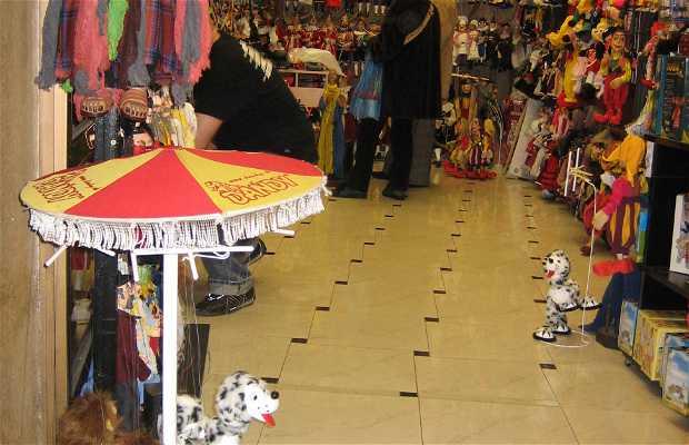 Tiendas de marionetas