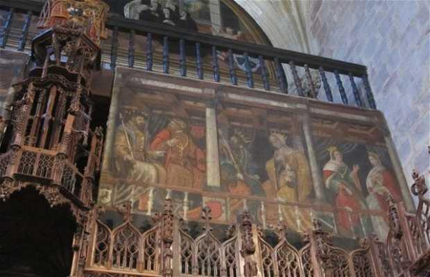 Choir of the Monastery of Santa Maria