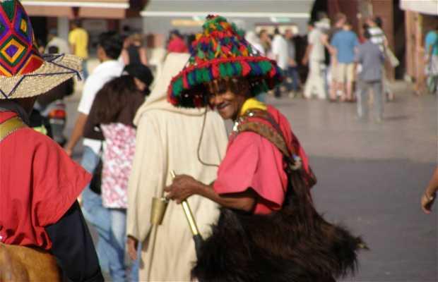 Los aguadores de Marrakech