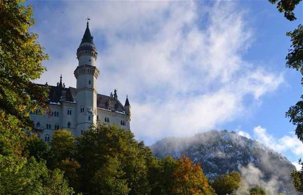 Il percorso dei Castelli sulle Alpi Tedesche
