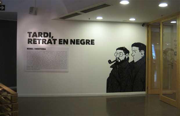 Tardi, Retrato en Negre