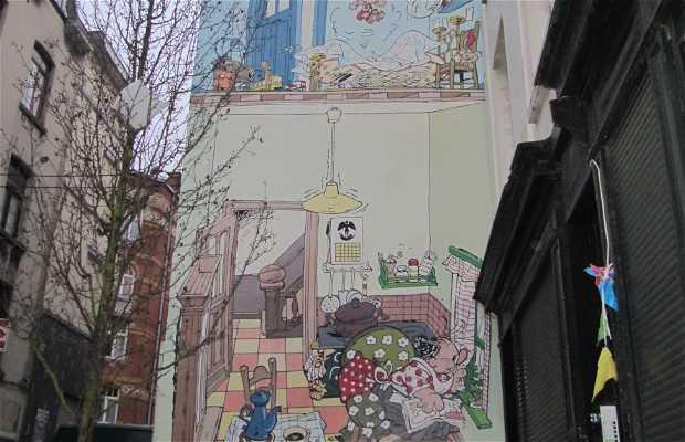 Mural de Jojo - Geerts