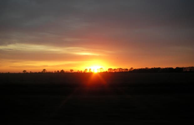 Dawn in la Pampa